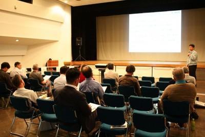 日本原電主催の住民説明会